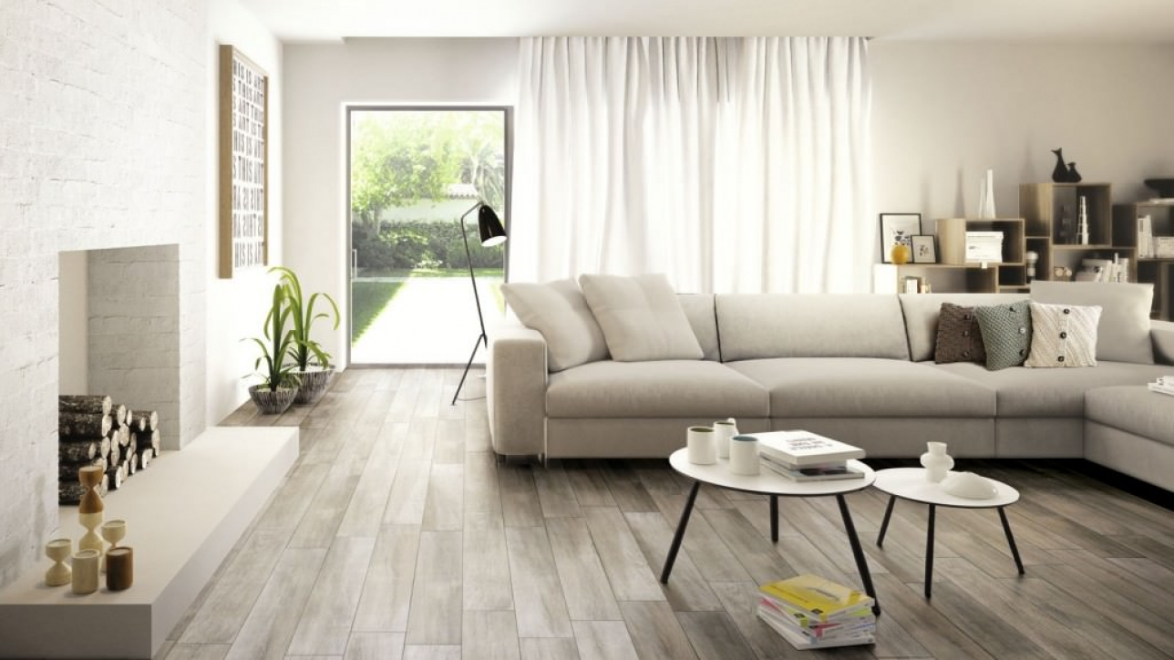 Pavimento Bianco Colore Pareti : Pareti e pavimento: come abbinare i colori e valorizzare gli