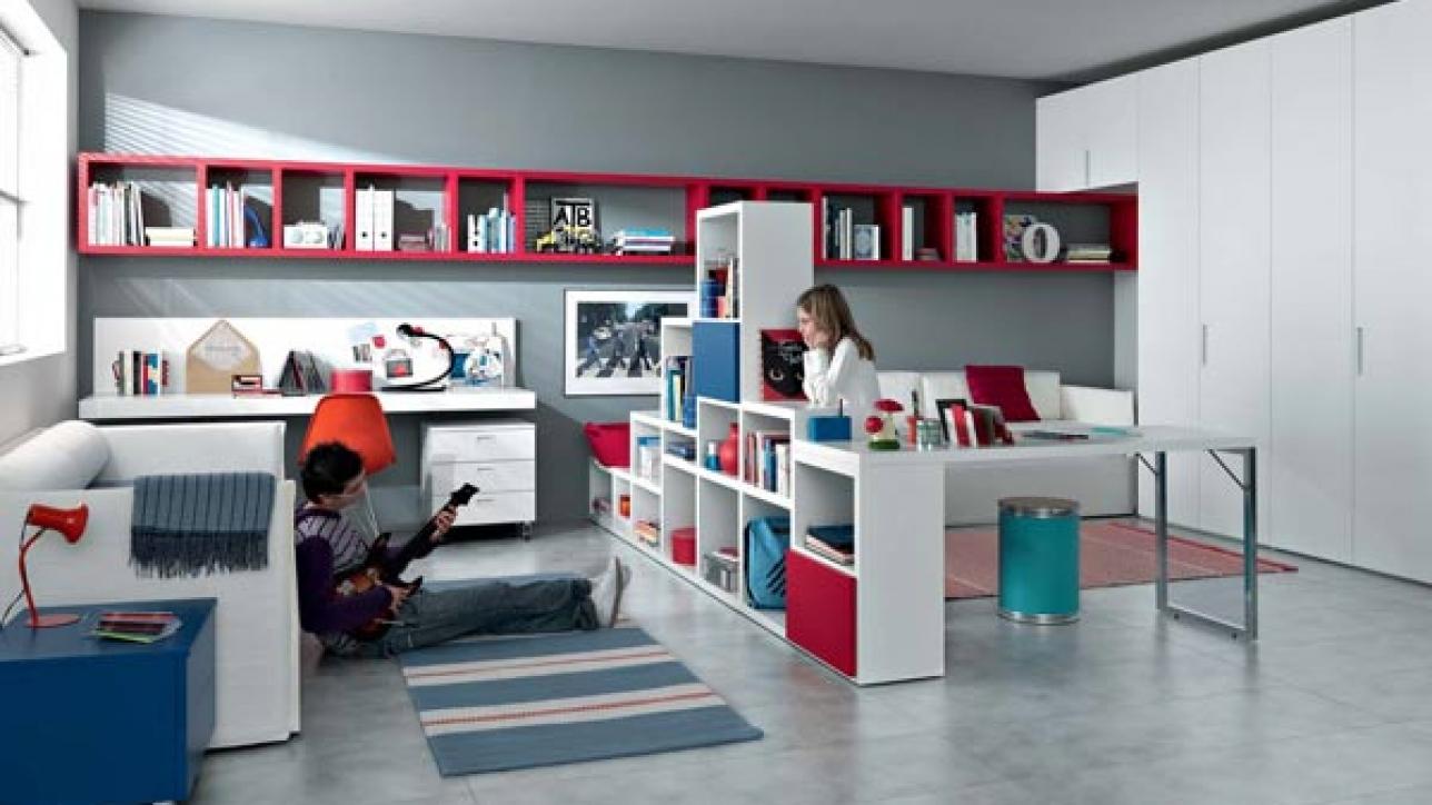 Alcuni consigli per dividere una stanza in due camerette gruppo elsa - Dividere una camera in due ...